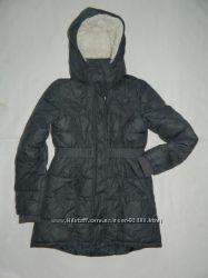 Пальто деми-еврозима H&m 140 размер 9-10 лет