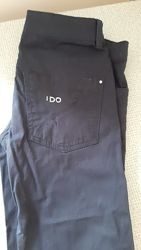 Брючки джинсы полукомбез 152 -158 см