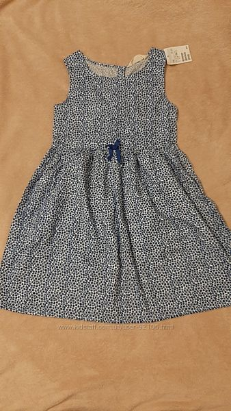 Новое платьице H&m 134 размер