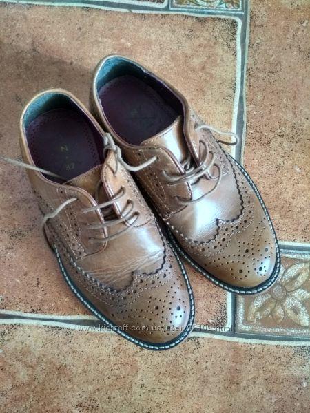 Шикарные туфли броги для маленького джентльмена