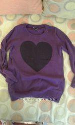 Красивый свитер р. 128-134