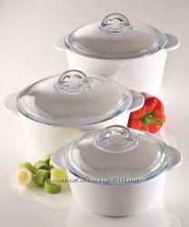Керамические кастрюли для плиты и духовки PYREX VITROCERAMIC