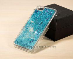 новый, чехол, бампер iPhone 5 5S SE блёстки