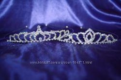 новая диадема, тиара, корона, украшение для волос