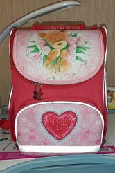 Школьный рюкзак с наполнением.