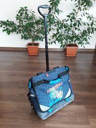 Новый детский рюкзак чемодан на колесах Франция