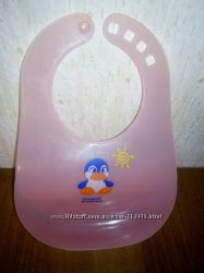 Слюнявчик , нагрудник пластиковый Canpol Babies