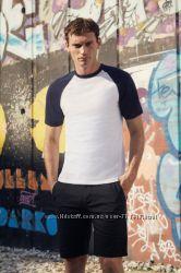 стильные хлопковые мужские футболки  из Европы Fruit of the Loom