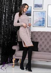 платье-гольф миди с карманами Мадлен