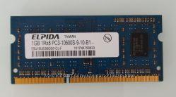 Память DDR3 1 Гб для ноутбука