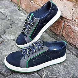 Кожаные кроссовки Шалунишка 291-40 размеры 31-37