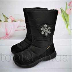 Мембранные зимние ботинки Тигина 91010 размеры 28-37