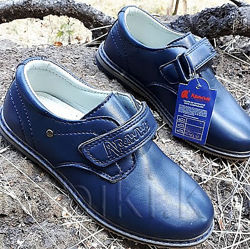 Туфли Apawwa синие классика р. 27-29. Модель а155
