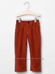 Вельветовые штанишки от GAP, на 4-5 лет