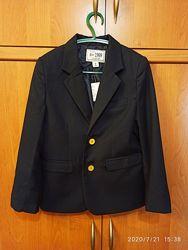 Фирменный пиджак Mango, Childrens place, р. 6-8 лет, синий