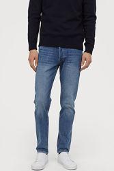 Узкие джинсы Slim фирмы Н&М, р. 28