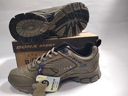 Кроссовки для мальчика BONA. Кожаные демисезонные кроссовки подростковые