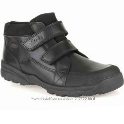 Clarks кожаные ботинки размер 29, 29. 5 . Оригинал
