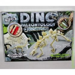 Раскопки динозавров Трицератопс, Стегозавр, Тиранозавр, Брахиозавр, Протоц