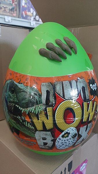 Большое яйцо сюрприз динозавр динозавра Dino WOW Box
