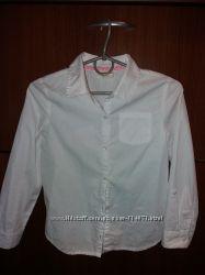 Рубашка р. М и шорты р. 8 школьные для девочки Crazy 8