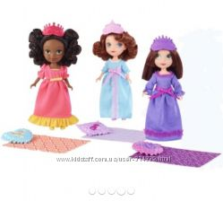 куколки пупсики принцесса София, Руби и Джейд, оригинал США