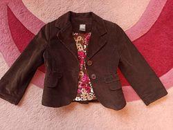 Модный пиджачок Zara kids на 3-4 года в отл. сост.