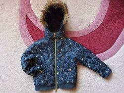 Демисезонная курточка для девочки на р.110-116см
