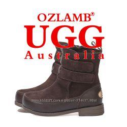 Полусапожки CLASSIC BOOTS фирмы OZLAMBUGG Australia US9 EU26 16см мальчику
