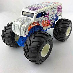 большой металлический джип Хот Вилс Monster Jam Hot Wheels оригинал из США