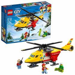 подарок мальчику конструктор вертолет Лего LEGO 190 деталей оригинал США