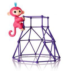 оригинал Канада интерактивная обезьянка фингерлинкс Fingerlings на лесенке