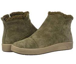 США женские ботинки полусапожки натуральная замша деми зима стелька 25, 5 с