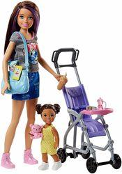 кукла няня коляска для пупсика куколка дочка для Барби Barbie оригинал США