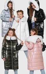 Распродажа Зимняя куртка, пальто для девочек DT-8305 X-Woyz 110-158 р