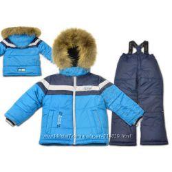 Зимний комбинезон костюм для мальчика Donilo128, 134, 140