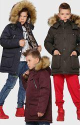 Распродажа Зимняя куртка для мальчика X-Woyz 8312 110-158 размер