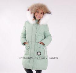 Распродажа Пальто зимнее Anernou 17152 для девочки 130, 140, 150, 160, 170