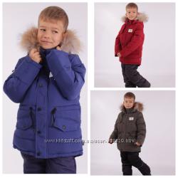 Зимний костюм - комбинезон для мальчика KIKO 116-128