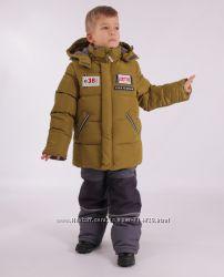Зимний костюм - комбинезон для мальчиков Kiko 104-128 размер