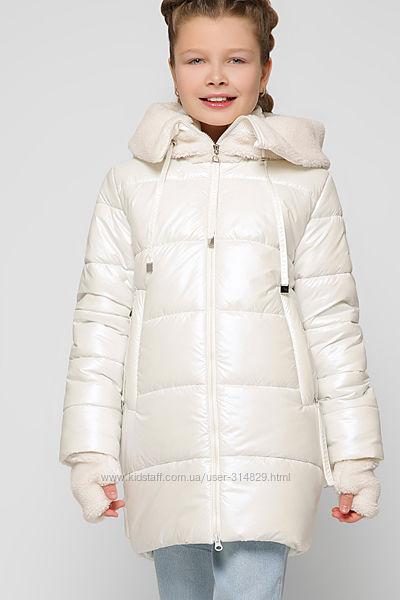 Распродажа Зимняя куртка, пальто для девочек DT-8303 X-Woyz 122-128 р