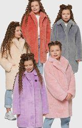 Стильная зимняя шубка для девочек X-Woyz 8317 110-140 размер