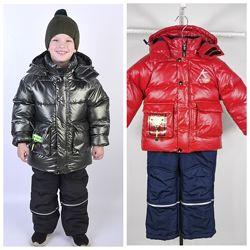 Зимний костюм - комбинезон для мальчика Kiko 5806 98 - 128 размер