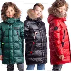 Зимняя куртка donilo 5829 для мальчика 122-140 размер