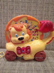 Музыкальная азбука-каталка Львенок Joy Toy