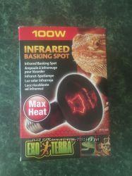 Лампа Hagen Exo Terra Infrared Basking Spot Lamp R25100W инфракрасная обог