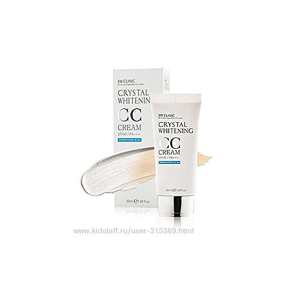 3W Clinic Crystal Whitening CC Cream SPF 50 PA