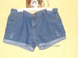 Джинсовые шорты р 48-50