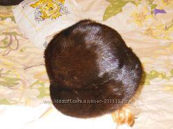 Женская зимняя шапка из лисы