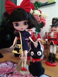 Шикарный набор. Кукла Блайз. Blythe. Кот Зизи. Аниме Хаяо Миядзаки.